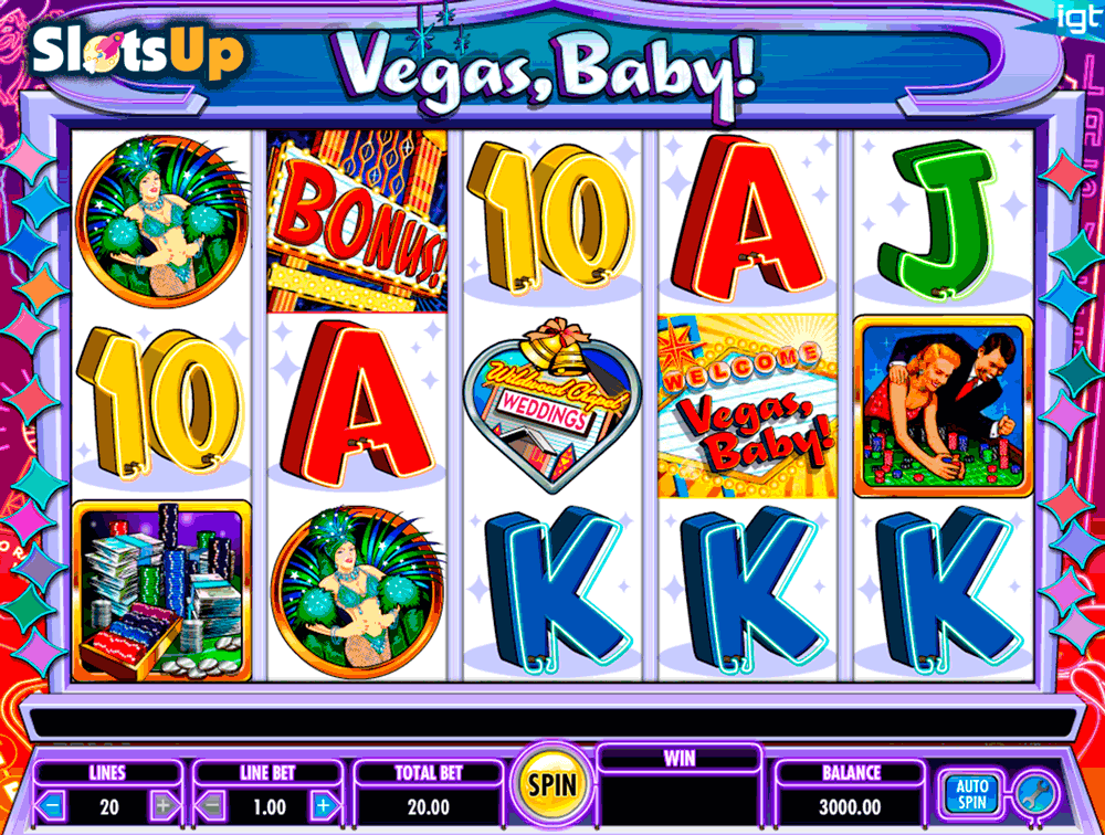 Vegas Baby Slot Machine - Play for Free or for Real Money