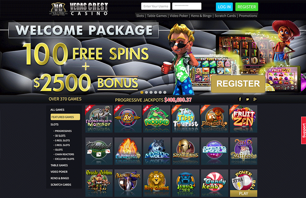 Vegas Crest Casino | Exclusive 10 Free Spins on Tipsy Tourist