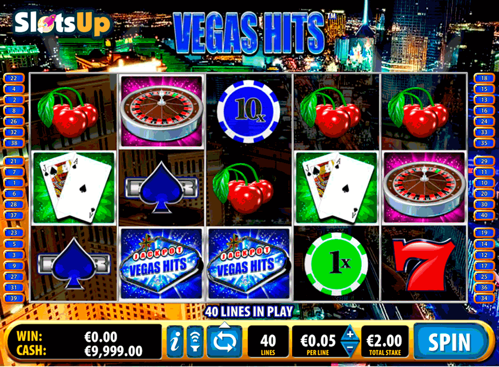 VEGAS HITS BALLY CASINO SLOTS