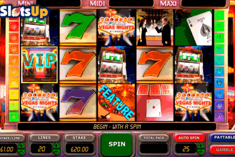 vegas nights openbet casino slots