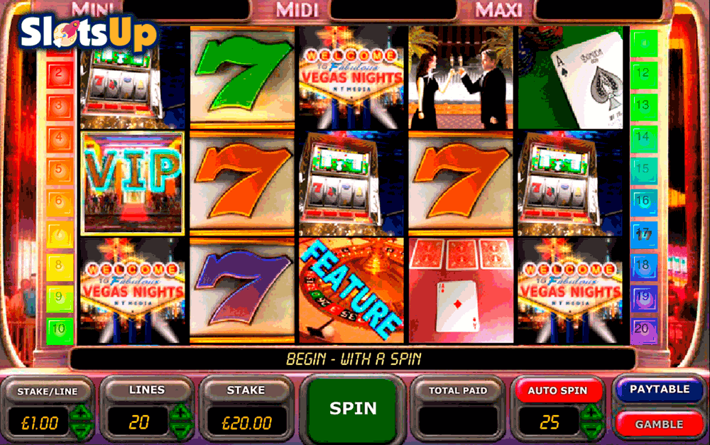 Vegas Nights™ Slot Machine Game to Play Free in IGTs Online Casinos