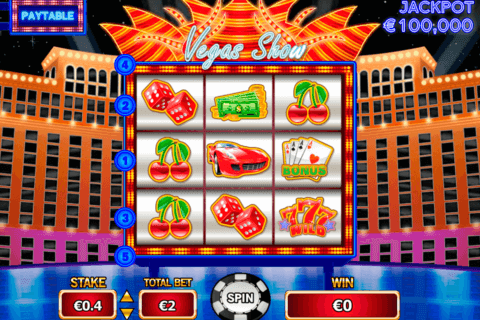 vegas show pariplay slot machine 480x320