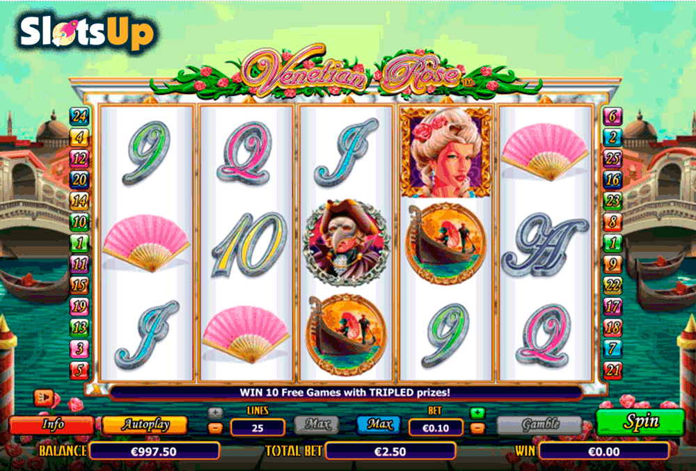 VENETIAN ROSE NEXTGEN GAMING CASINO SLOTS
