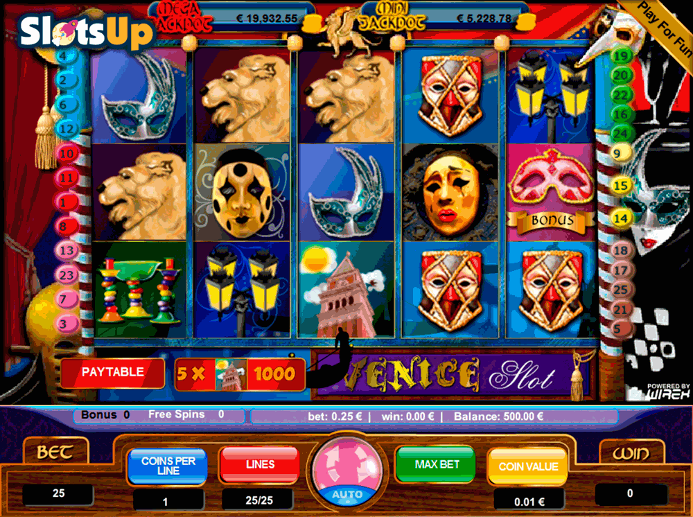 Venice Slot Machine - Review & Play this Online Casino Game