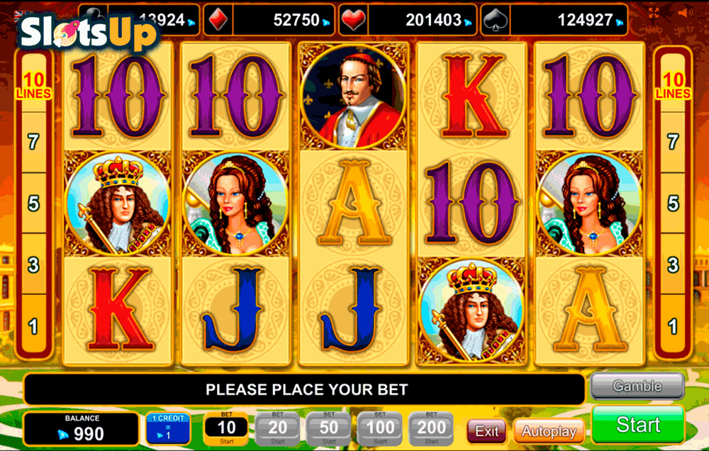 Versailles Gold Slot - Play this Video Slot Online