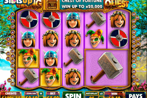 viking quest big time casino slots 480x320