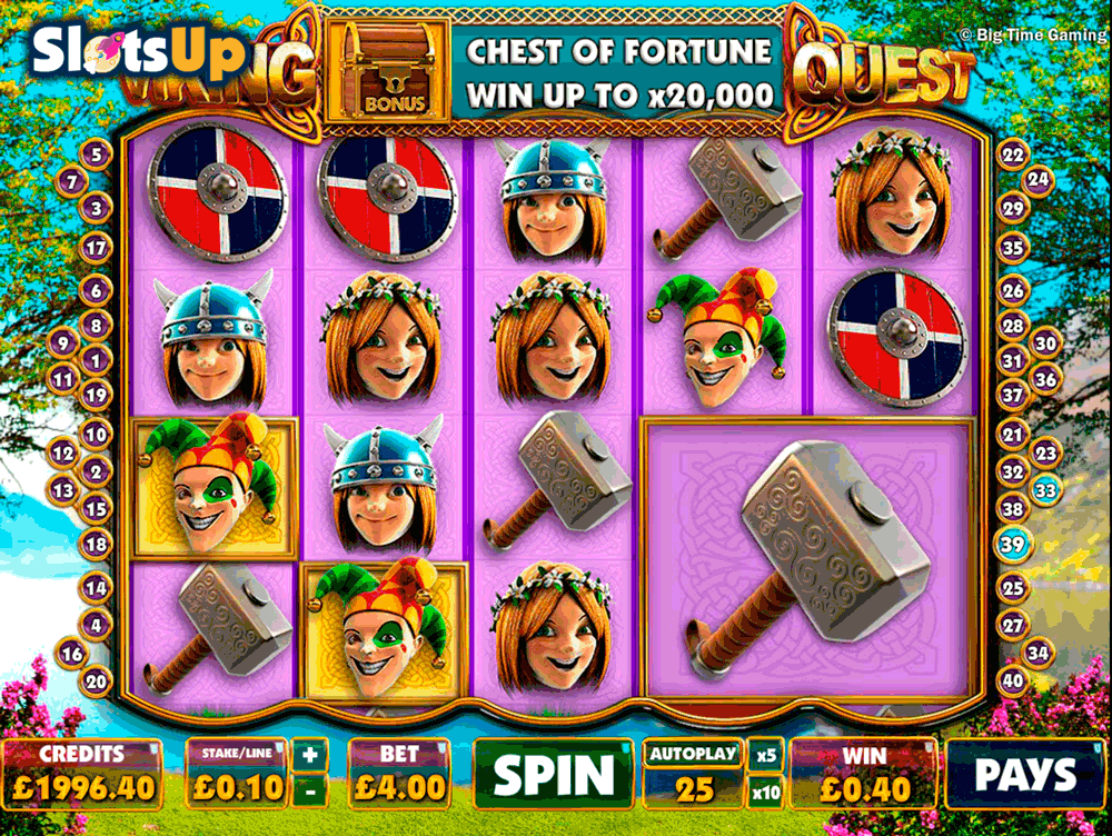 Viking Quest™ Slot Machine Game to Play Free in Big Time Gamings Online Casinos