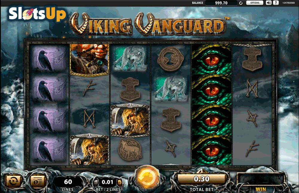 Viking Vanguard Slot Machine - Play it Free Online