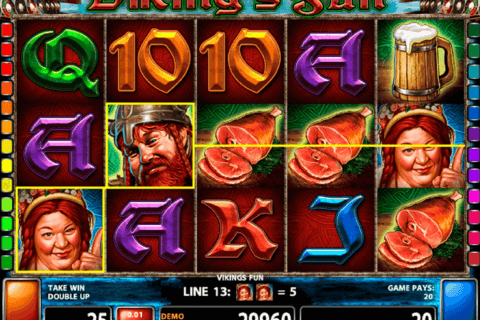 VIKINGS FUN CASINO TECHNOLOGY SLOT MACHINE