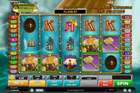 vikings plunder habanero slot machine