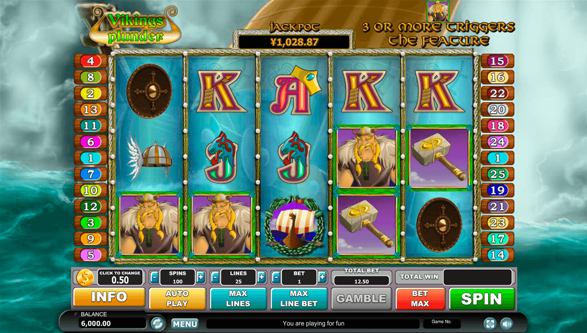 Vikings Plunder Slot Machine Online ᐈ Habanero™ Casino Slots
