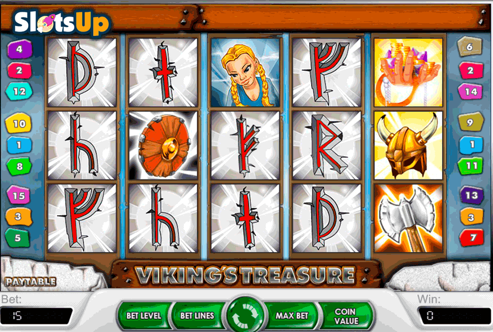 vikings treasure netent casino slots