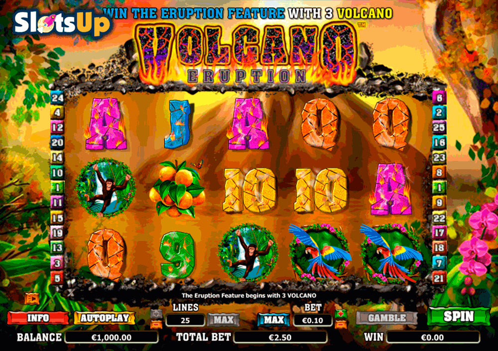 Spiele Volcanic Cash - Video Slots Online