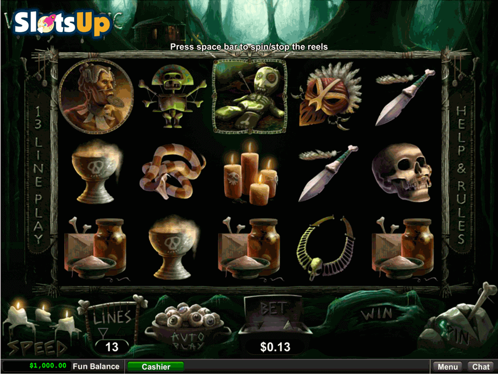 Voodoo Magic Slot Game by RTG - Play it Free Online
