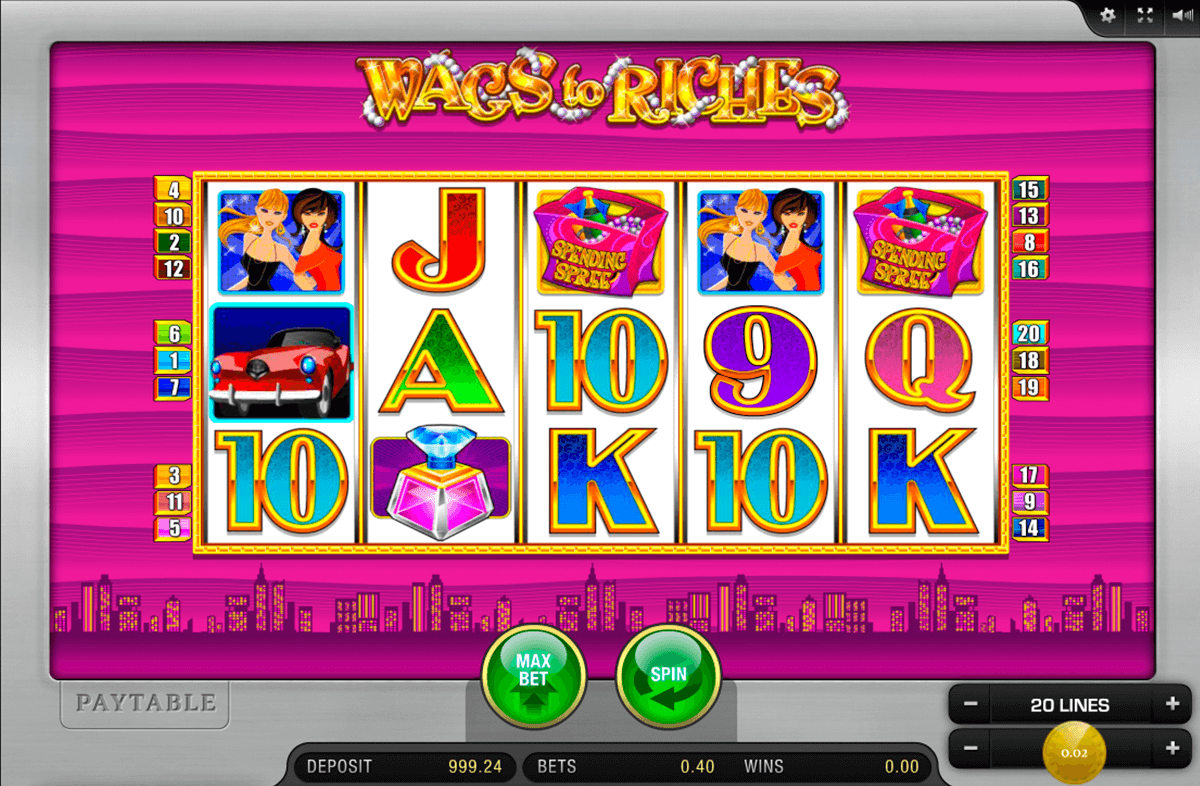 WAGS TO RICHES MERKUR CASINO SLOTS
