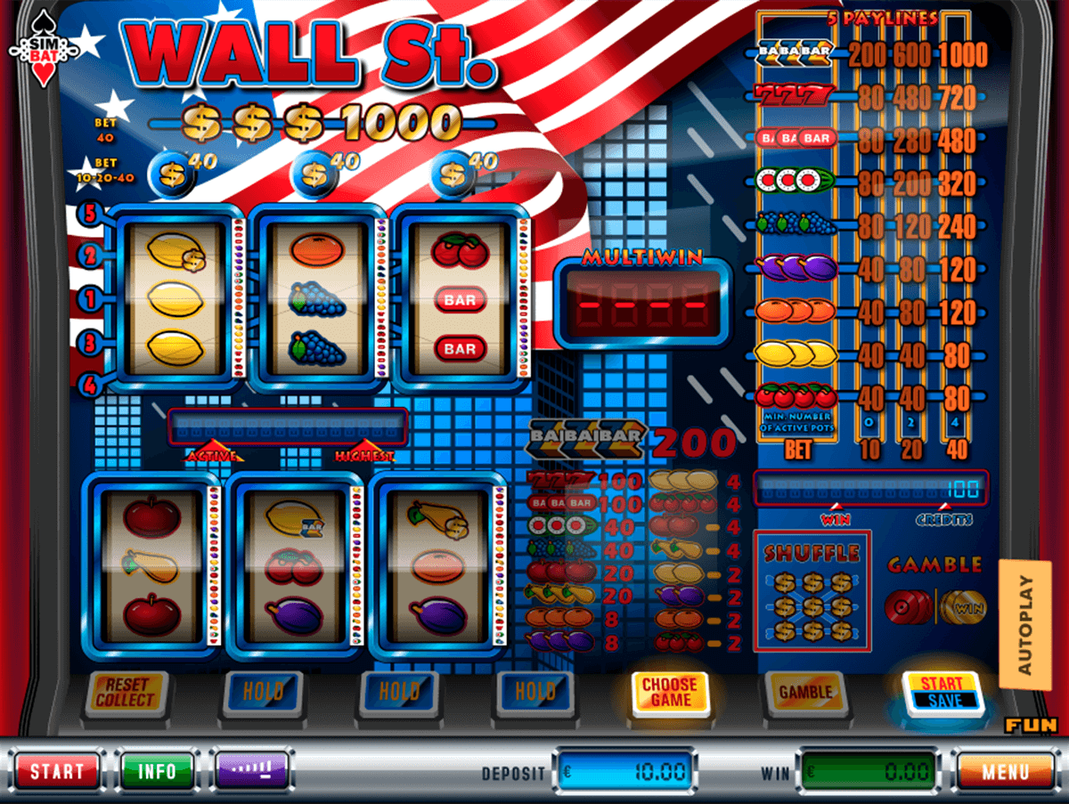 Wall St. Slot Machine Online ᐈ Simbat™ Casino Slots