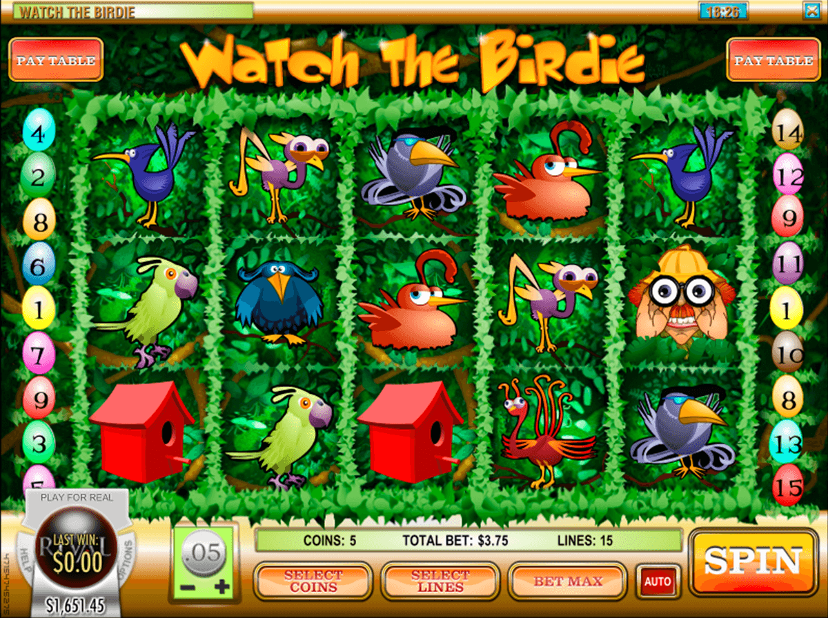 Watch the Birdie™ Slot Machine Game to Play Free in Rivals Online Casinos