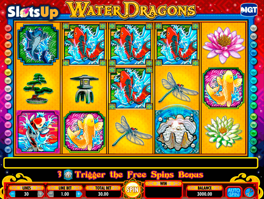 water dragons igt casino slots