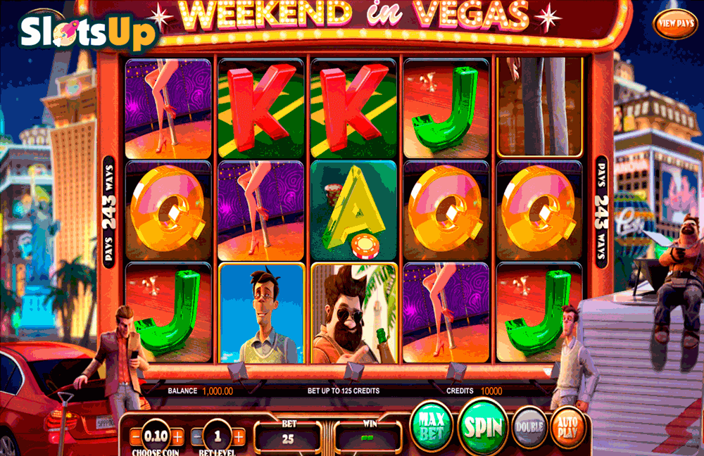 WEEKEND IN VEGAS BETSOFT CASINO SLOTS