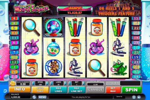 weird science habanero slot machine
