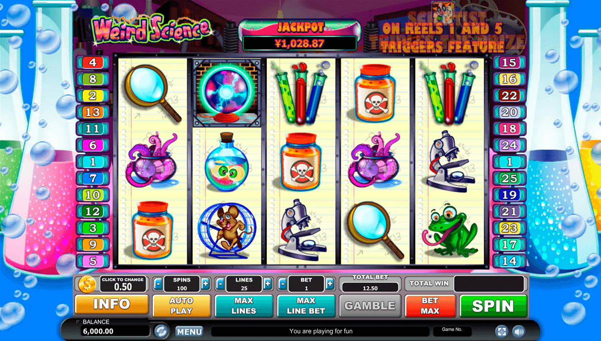 Weird Science Slot Machine Online ᐈ Habanero™ Casino Slots