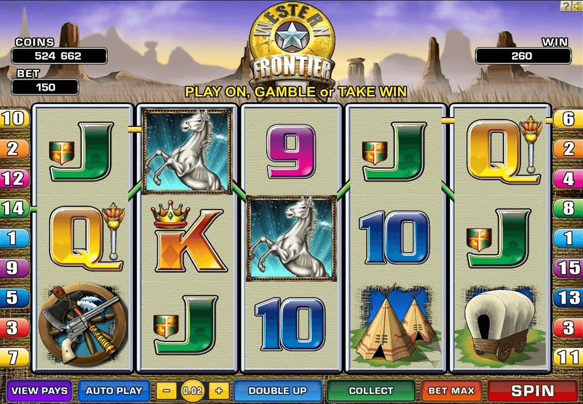 WESTERN FRONTIER MICROGAMING CASINO SLOTS