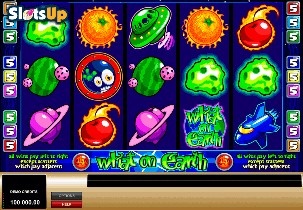 WHAT ON EARTH MICROGAMING CASINO SLOTS