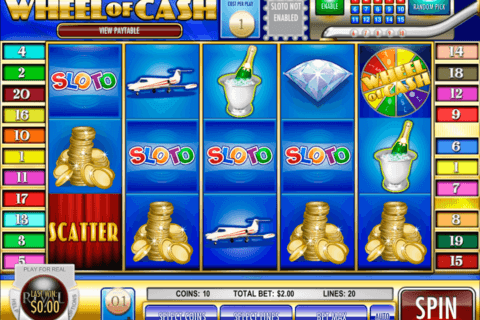 wheel of cash rival casino slots 480x320