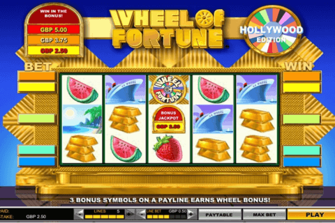 WHEEL OF FORTUNE HOLLYWOOD EDITION IGT CASINO SLOTS