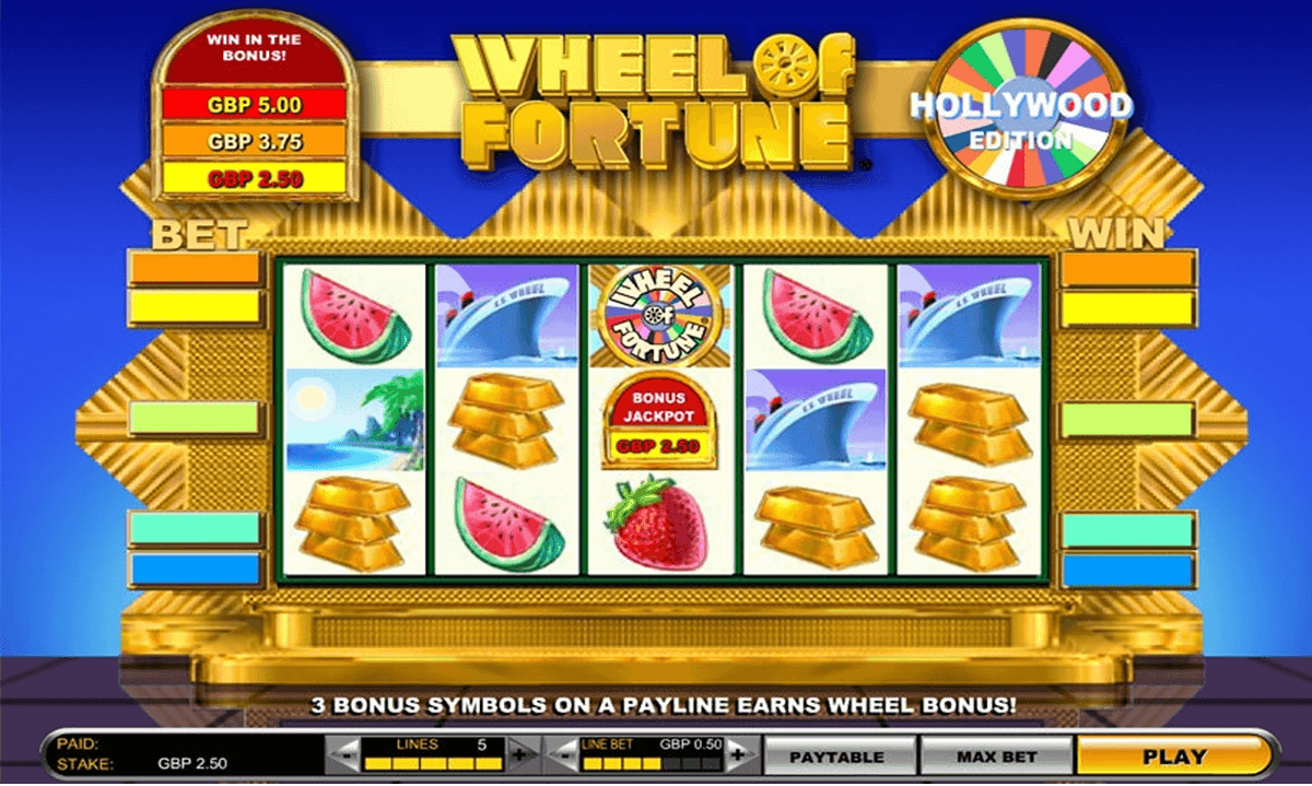 play wheel of fortune slot machine online casino of ra