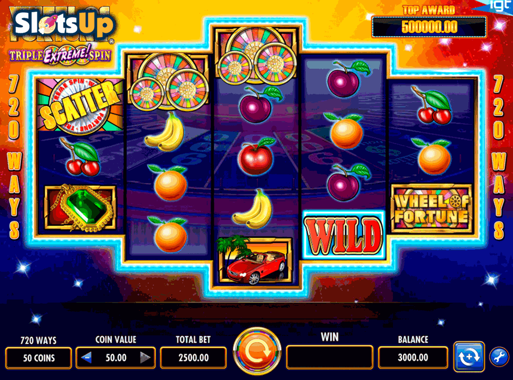 WHEEL OF FORTUNE IGT CASINO SLOTS