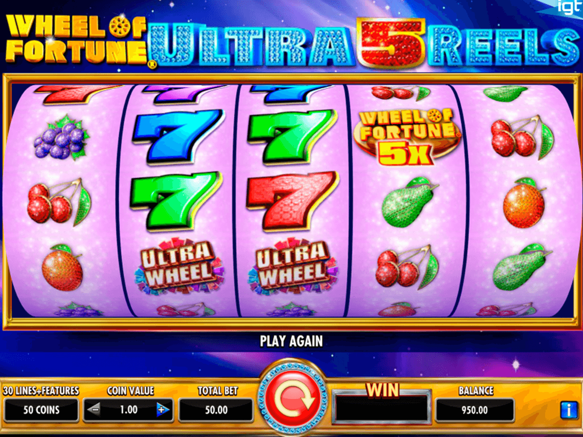 wheel of fortune slot machine