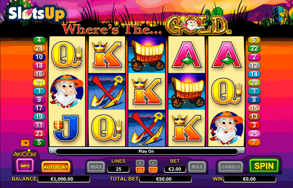 Der Slot Wheres the Gold – Aristocrat-Slots online spielen
