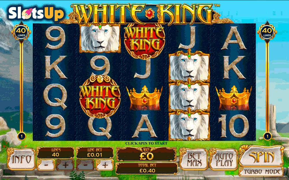 white king playtech casino slots