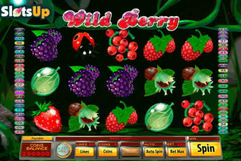 wild berry saucify casino slots 480x320