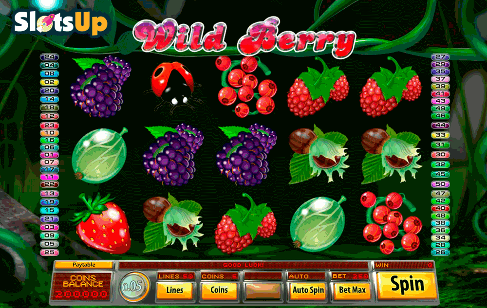 wild berry saucify casino slots