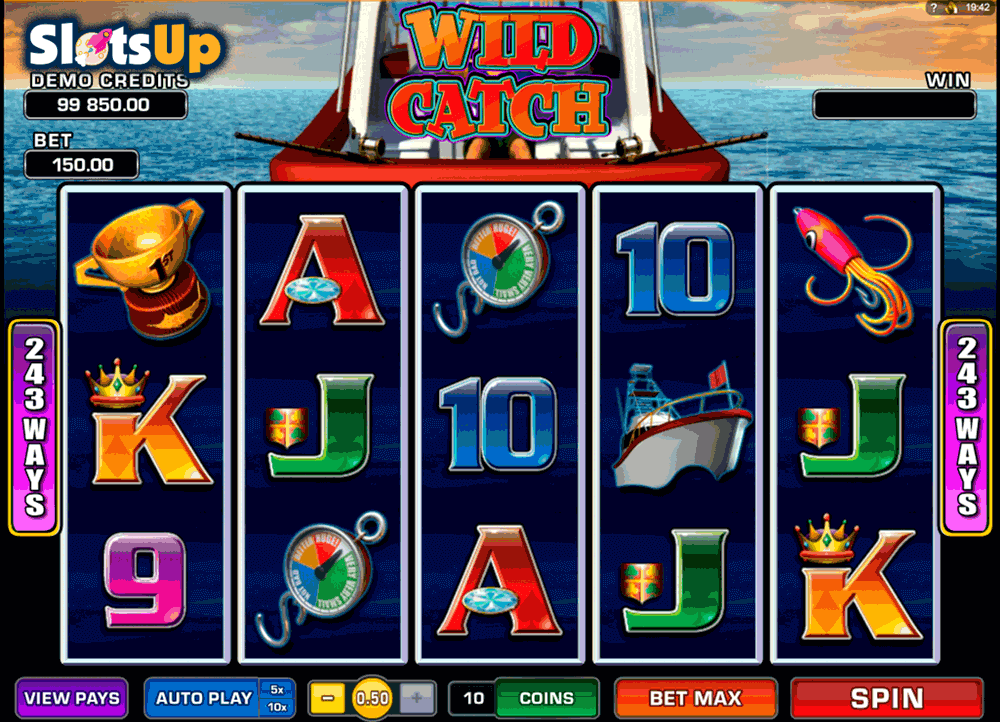 Wild Catch Slots - Free Online Microgaming Slot Machine Game
