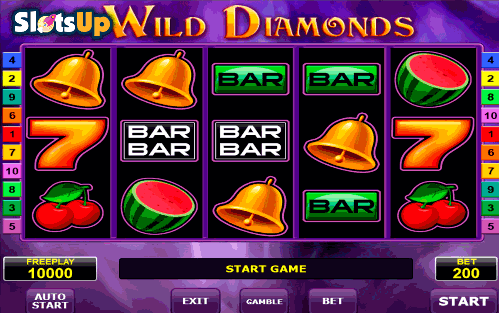 Wild Diamonds™ Slot Machine Game to Play Free in Amatics Online Casinos