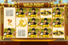 wild fight red tiger casino slots 480x320