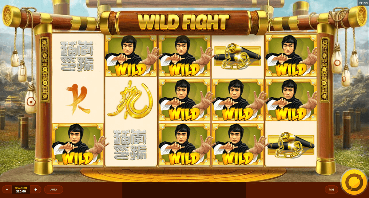 WILD FIGHT RED TIGER CASINO SLOTS