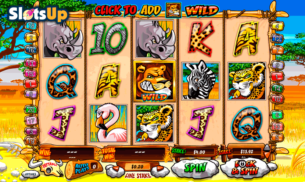 Safari Heat Slot Machine Online ᐈ Playtech™ Casino Slots