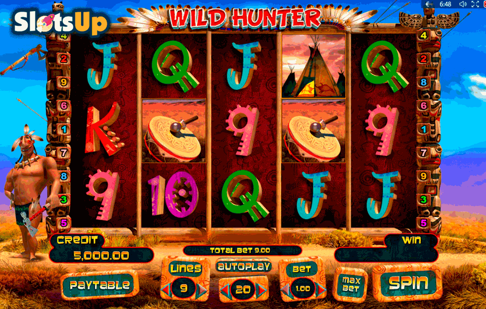 Wild Hunter Slot Machine Online ᐈ Playson™ Casino Slots