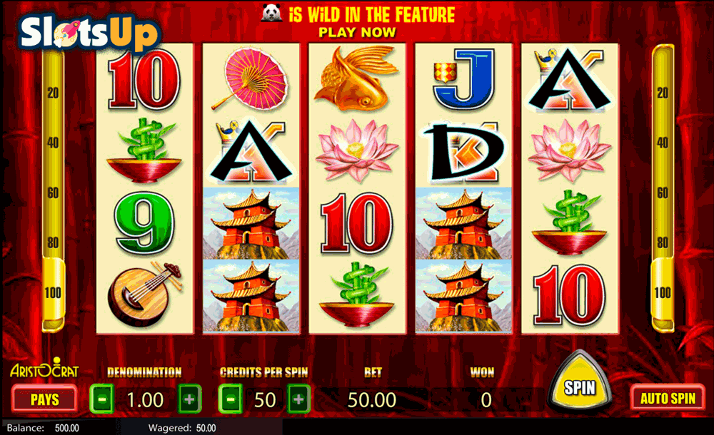 Benny The Panda Slot - Play Free Casino Slot Machine Games