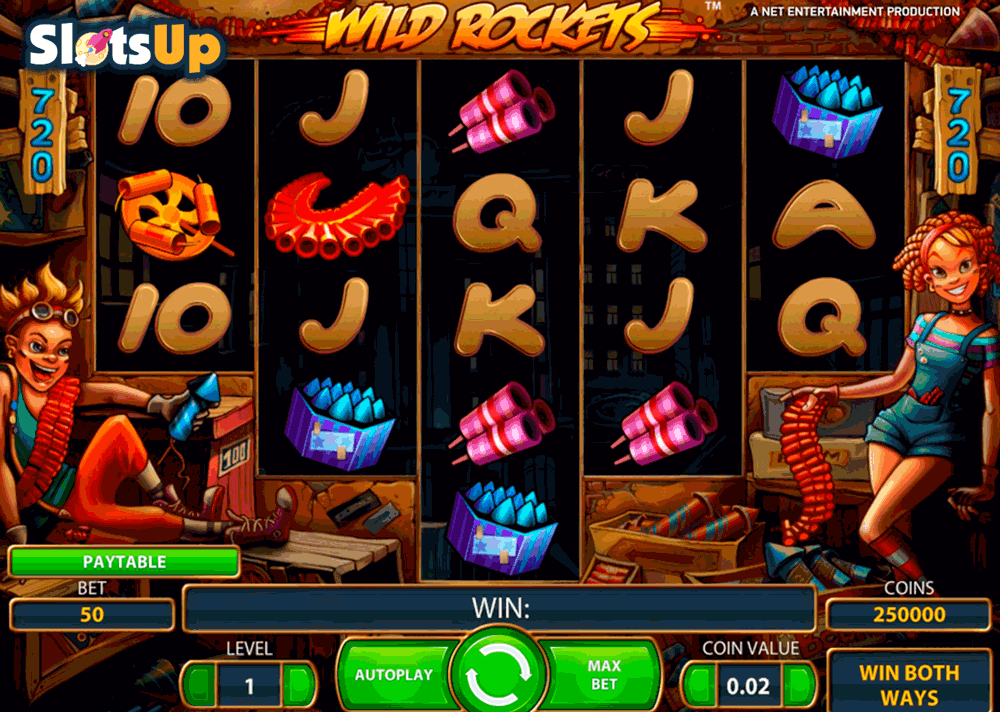 Wild Rockets Slot Machine Online ᐈ NetEnt™ Casino Slots