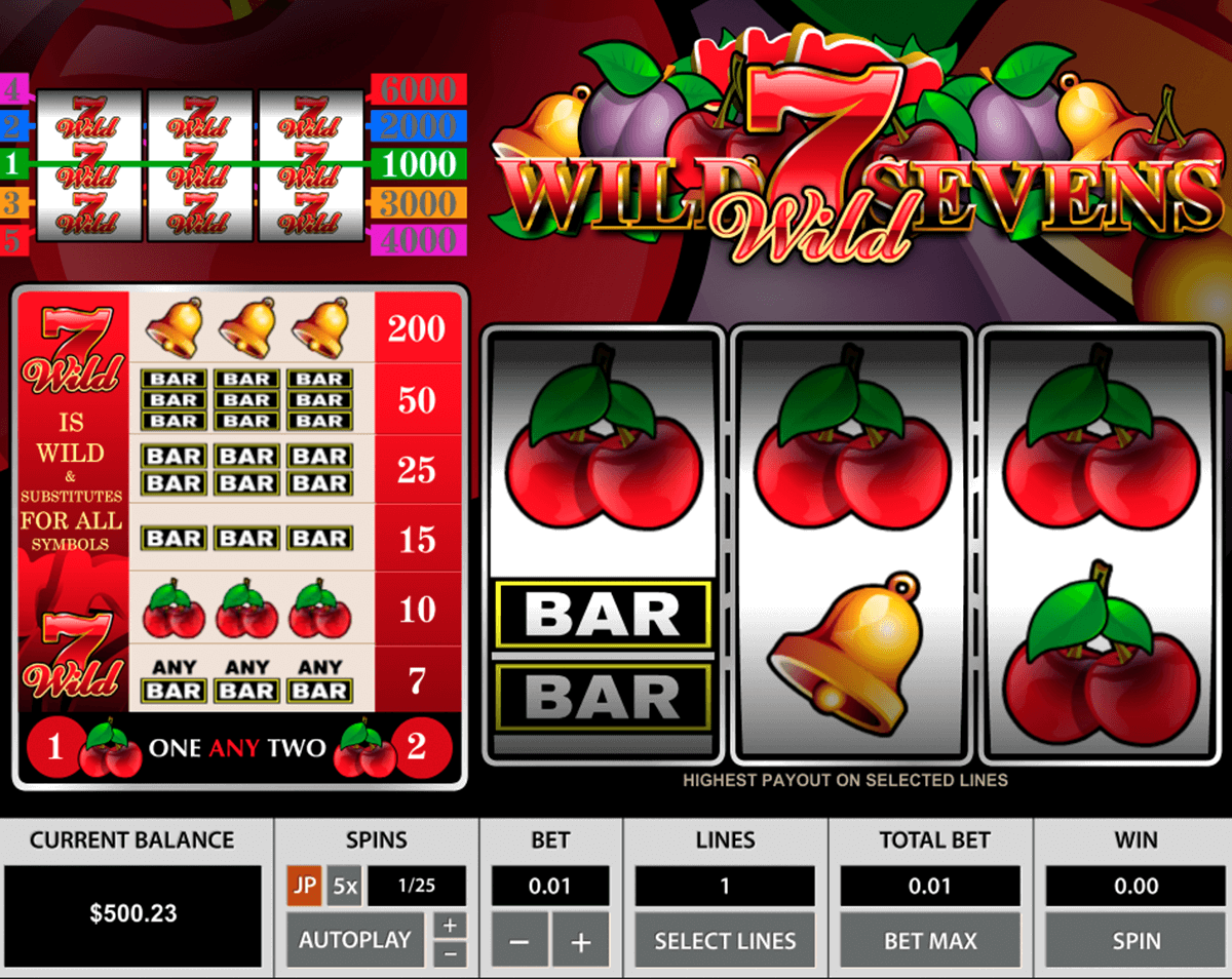 Spiele Sevens & Fruits: 20 Lines - Video Slots Online