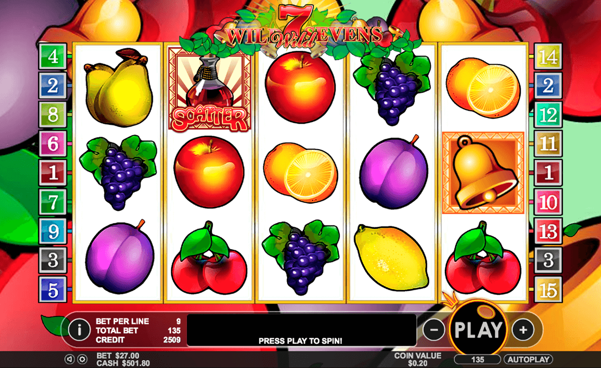 Wild Sevens Slot Machine - Play for Free With No Download