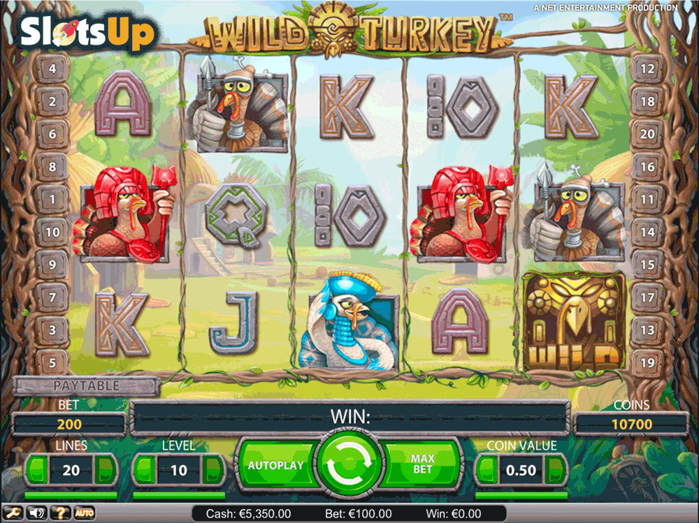 WILD TURKEY NETENT CASINO SLOTS