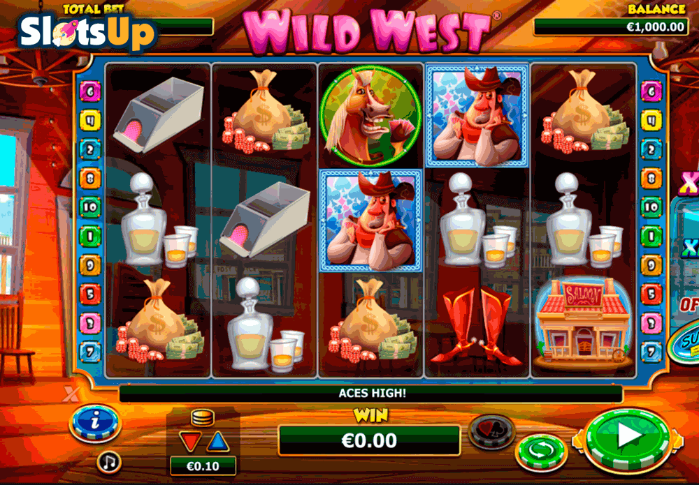 Reel Wild West™ Slot Machine Game to Play Free in Gamesyss Online Casinos
