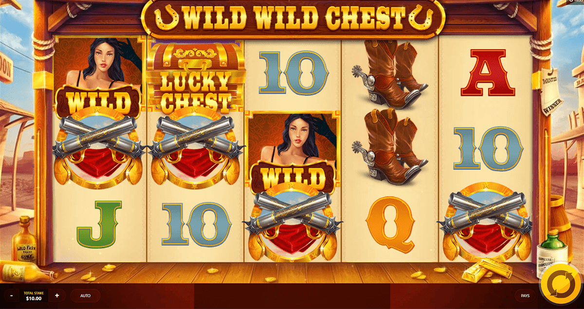 wild wild chest red tiger casino slots