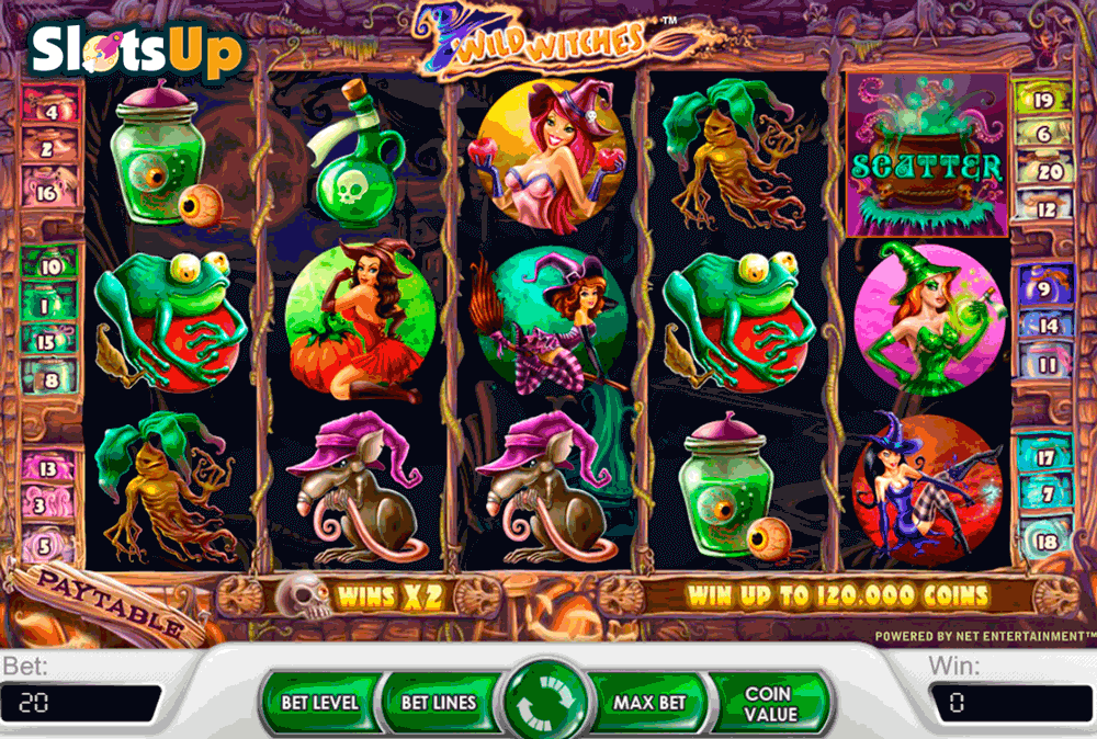 Wild Witches Slots - Play Wild Witches Slots Game